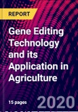 Gene Editing Technology and its Application in Agriculture