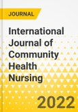 International Journal of Community Health Nursing- Product Image