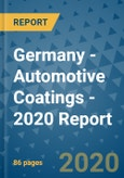 Germany - Automotive Coatings - 2020 Report- Product Image
