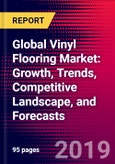 Global Vinyl Flooring Market: Growth, Trends, Competitive Landscape, and Forecasts- Product Image
