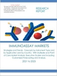 Immunoassay Markets Strategies and Trends. Forecasts by Instrument Type and by Application and by Country. With Multiplex and Point of Care Market Analysis, Executive Guides and including Customized Forecasting and Analysis. 2021 to 2025- Product Image