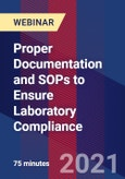 Proper Documentation and SOPs to Ensure Laboratory Compliance - Webinar- Product Image