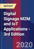 Digital Signage M2M and IoT Applications - 3rd Edition- Product Image