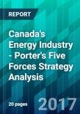 Canada's Energy Industry - Porter's Five Forces Strategy Analysis- Product Image