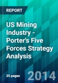 US Mining Industry - Porter's Five Forces Strategy Analysis- Product Image