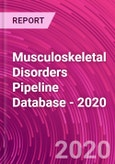 Musculoskeletal Disorders Pipeline Database - 2020- Product Image