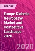 Europe Diabetic Neuropathy Market and Competitive Landscape - 2020- Product Image