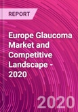 Europe Glaucoma Market and Competitive Landscape - 2020- Product Image