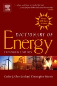 Dictionary of Energy- Product Image
