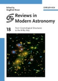 From Cosmological Structures to the Milky Way. Edition No. 1. Reviews in Modern Astronomy- Product Image