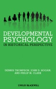 Developmental Psychology in Historical Perspective. Edition No. 1- Product Image