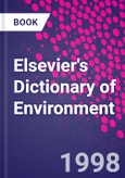 Elsevier's Dictionary of Environment- Product Image