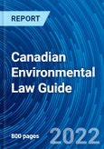Canadian Environmental Law Guide- Product Image