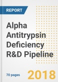 Alpha Antitrypsin Deficiency R&D Pipeline Analysis Report, H2-2018- Product Image
