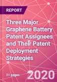 Three Major Graphene Battery Patent Assignees and Their Patent Deployment Strategies - Product Image